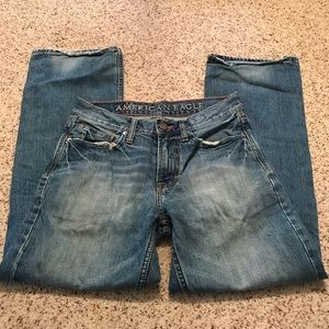 American eagle outfitters men's bootcut jeans 28
